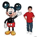 Mickey Mouse Airwalkers Mylar Balloon
