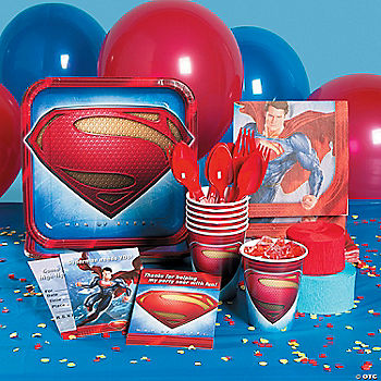 Superman: Man Of Steel Basic Party Pack