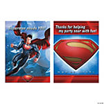 Superman™ Man of Steel Invitations/Thank Yous