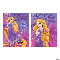 Tangled Sparkle Invitations & Thank You Cards