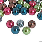 Dark Pearl Bead Assortment - 8mm