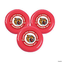 Red Team Spirit Custom Photo Mini Flying Disks