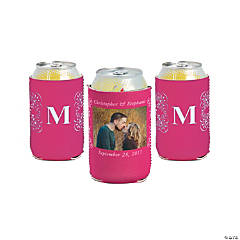 Hot Pink Custom Photo Can Covers