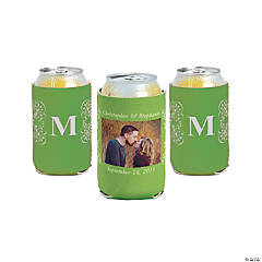 Lime Green Custom Photo Can Covers