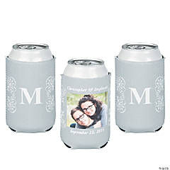 Silver Custom Photo Can Covers