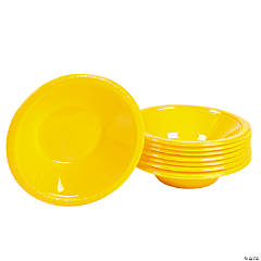 School Bus Yellow Bowls