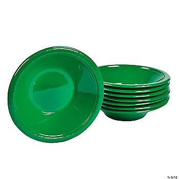 Emerald Green Plastic Bowls