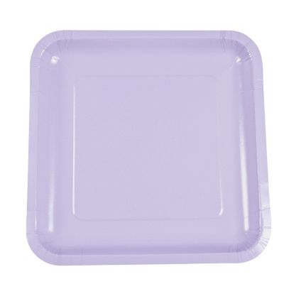 quickview · image of Lavender Square Paper Dinner Plates with sku13623124  sc 1 st  Oriental Trading & Square Paper Dinner Plates