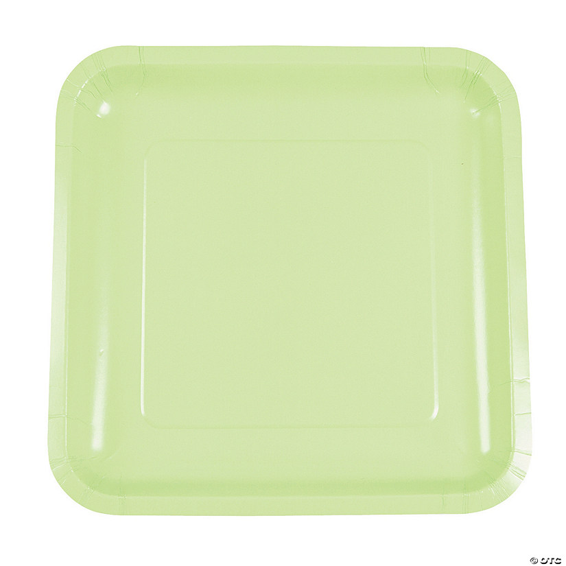 Pistachio Green Square Dinner Plates  sc 1 st  Oriental Trading & Pistachio Green Square Dinner Plates - Discontinued