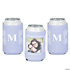 Lilac Custom Photo Can Covers