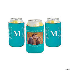 Turquoise Custom Photo Can Covers