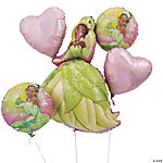 Princess Tiana Mylar Balloon Bouquet