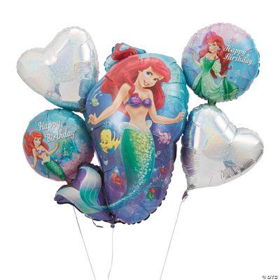 Little Mermaid Mylar Balloon Bouquet