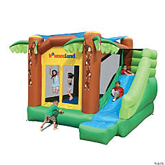 Bounceland™ Inflatable Jungle Bounce House With Sun Roof