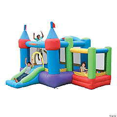 Bounceland™ Inflatable Dream Castle Bounce House With Ball Pit