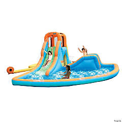 Bounceland™ Inflatable Cascade Water Slides With Large Pool