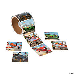 Jumbo Disney Planes Roll of Stickers