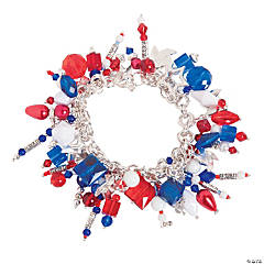 Red, White & Blue Bracelet