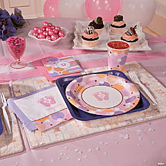Tiny Toes Pink Party Supplies