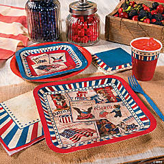 Vintage Patriotic Party Supplies