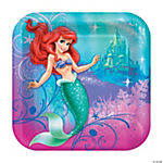 Little Mermaid Sparkle Dinner Plates