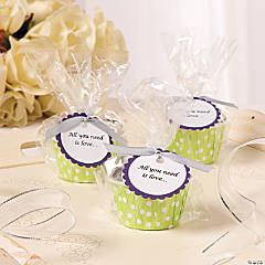 """All You Need Is Love"" Wedding Favors Idea"