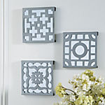 Geometric Accent Mirrors