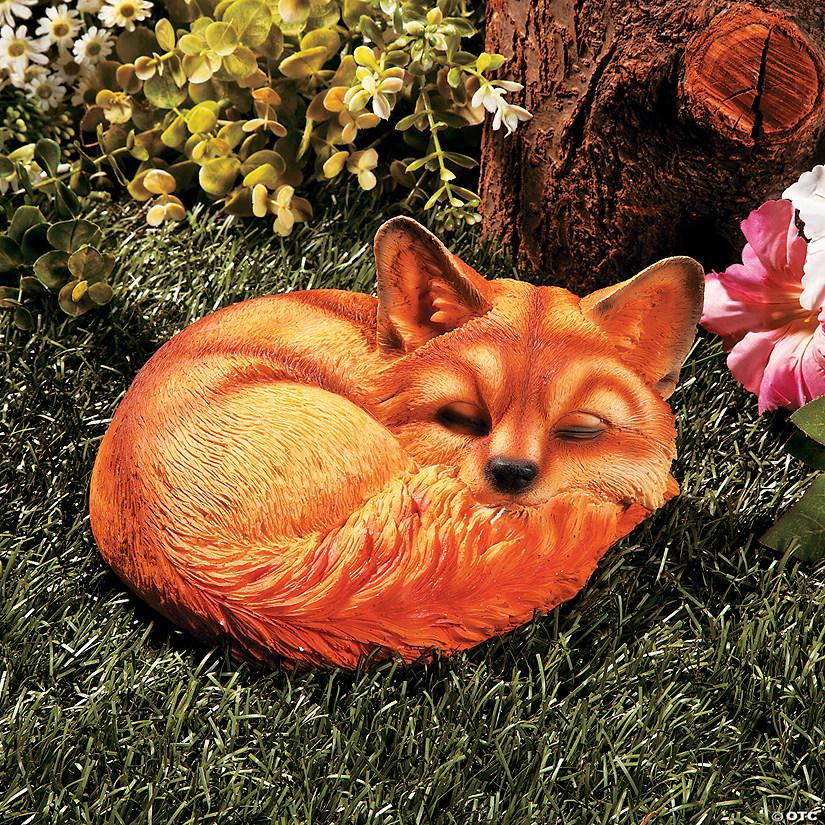 Baby Fox Garden Statue