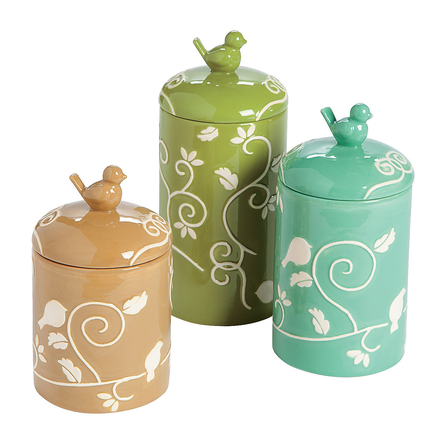 Green Canister Sets Kitchen Southwestern Kitchen Canister Sets 22581020170517 Ponyiexnet