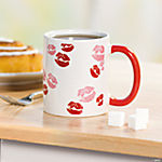Valentine Kiss Mugs