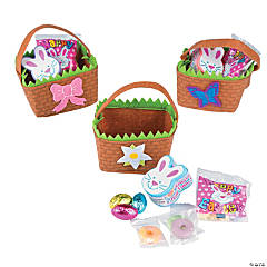 Mini Easter Baskets with Candy