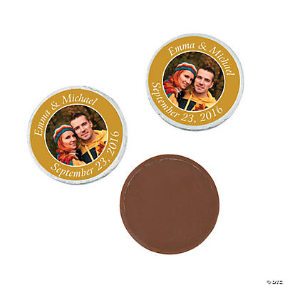 Custom Photo Chocolate Coins Oriental Trading