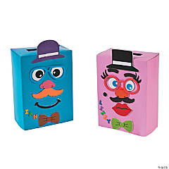 Silly Face Valentine Box Craft Kit
