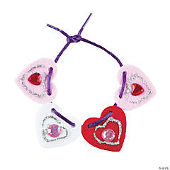 Lacing Heart Bracelets Craft Kit
