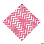 Pink Chevron Luncheon Napkins
