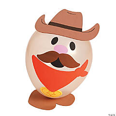 Cowboy Balloon Craft Kit