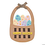 Easter Basket Thumbprint Craft Kit
