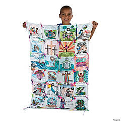 Color Your Own Bible Story Quilt Craft Kit