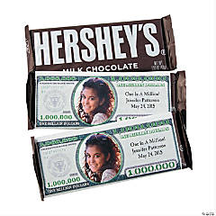 Custom Photo Million Dollar Candy Bars