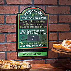 St. Patrick's Day Countdown Calendar