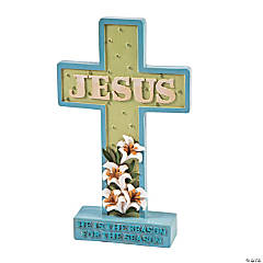 """Jesus Is the Reason"" Tabletop Cross"