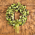 St. Patrick's Day Floral Wreath