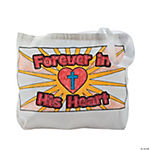 "CYO ""Forever in His Heart"" Bible Bags"