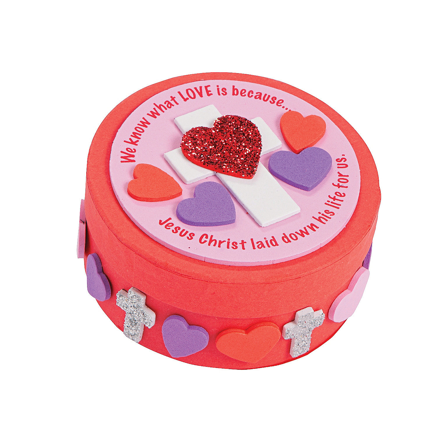 Inspirational valentine prayer box craft kit oriental for Inspirational valentine crafts