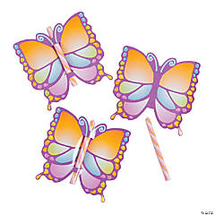 Butterfly Cards with Candy Stick