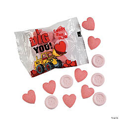 """I Dig You!"" Valentine Candy Fun Packs"