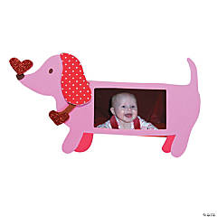 Valentine Dachshund Dog Picture Frame Craft Kit