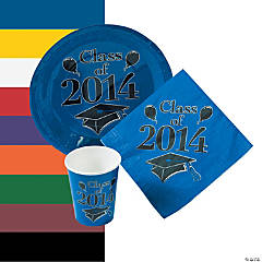 Class Of 2014 Tableware