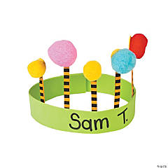Pom Pom Tree Crown Craft Kit