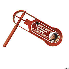 Burgundy Graduation Custom Photo Giant Noisemakers